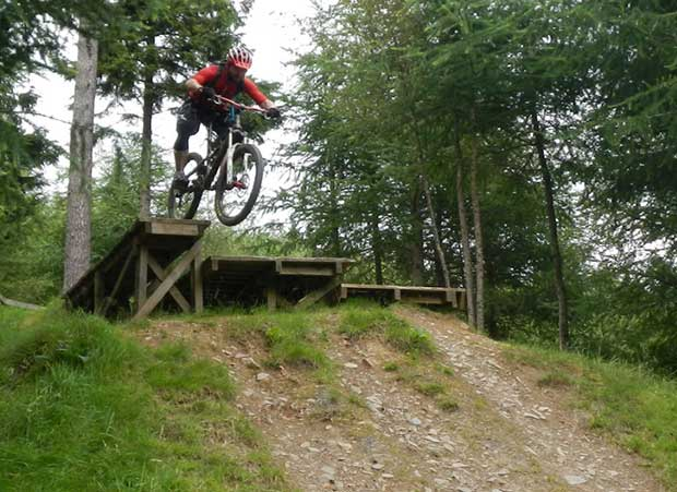 Riding Innerleithen